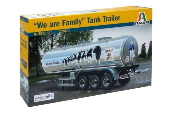 """Italeri 3911 1:24 CLASSIC TANK TRAILER """"We are family"""""""