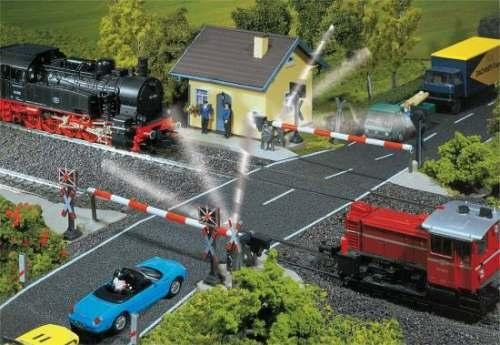 Faller 120171 Beschrankter Bahnübergang
