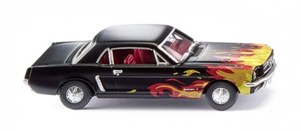 Wiking 020503 Ford Mustang Coupé - schwarz