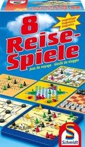 Schmidt 49102 8 Reise-Spiele, magnetisch