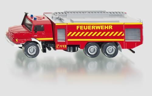 Siku 2109 Mercedes Zetros Feuerwehr