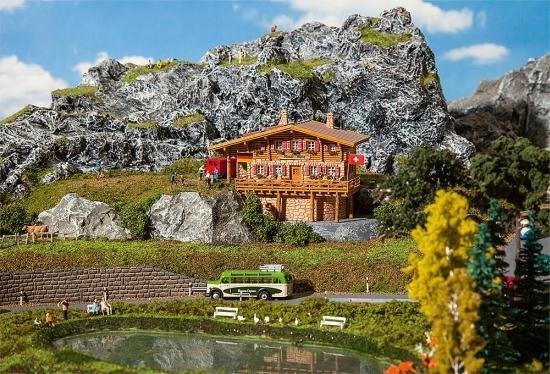 Faller 232356 Hochgebirgshütte Moser-Hütte