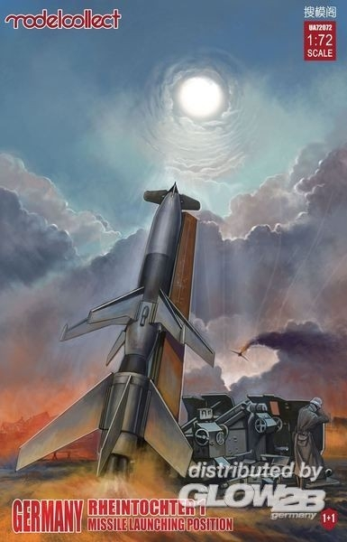 Modelcollect UA72072 WWII Rheintochter 1 Rakete 1+1 1:72