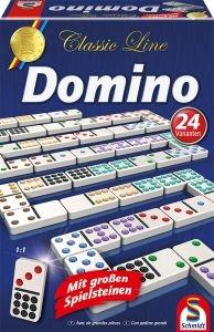 Schmidt 49207 Domino, mit extra großen Spielfiguren