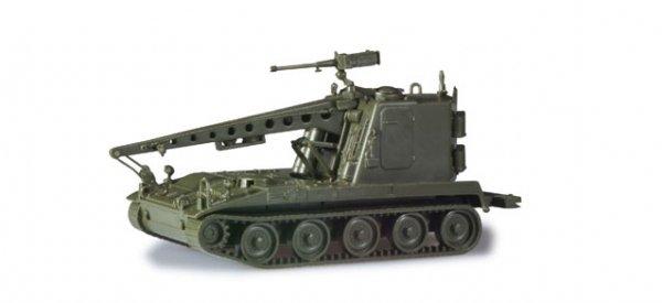 Herpa 744836 M578 Bergepanzer mit großer Kabine auf SF (US)