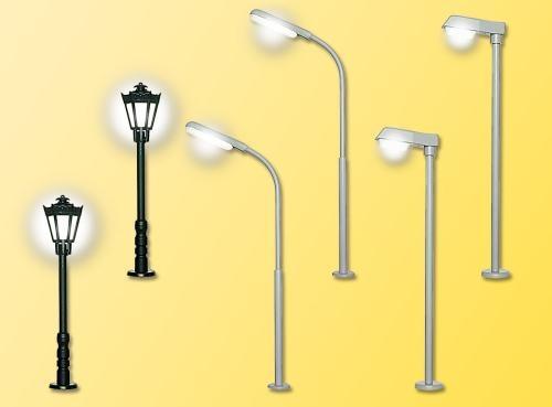 Viessmann 6401 N LED-Lampen Set