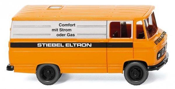 Wiking 027056 Kastenwagen MB L 406 Stiebel Eltron