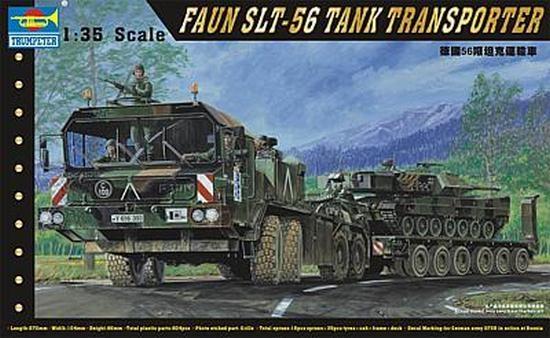 Trumpeter 750203 1/35 FAUN SLT-56 Tank-Transpo