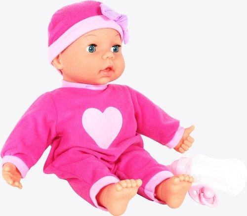 Vedes 50304434 Amia Interaktiv-Puppe 10 Funktionen, 38 cm