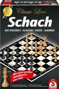 Schmidt 49082 Schach, mit extra großen Spielfiguren