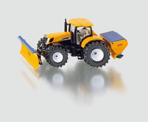 Siku 2940 Traktor mit Räumschild und Streueinrichtung