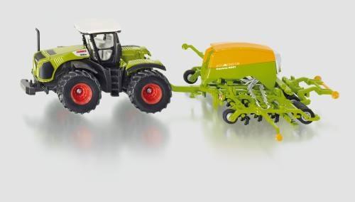 Siku 1826 Traktor mit Sämaschine Amazone Cayenna 6001