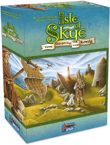 Spielkarten Altenburg 22160078 ASS Altenburger Lookout Spiele Isle of Skye Kennerspiel des Jahres 20
