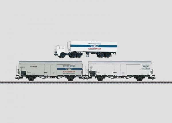 Märklin 47322 Kühlwagen-Set Transthermos DB