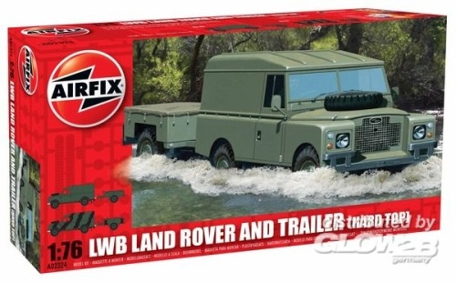 Airfix 02324 LWB LANDROVER (HARD TOP) 1:76