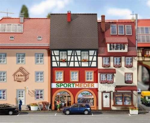 Faller 130498 Stadthaus Sport Meder