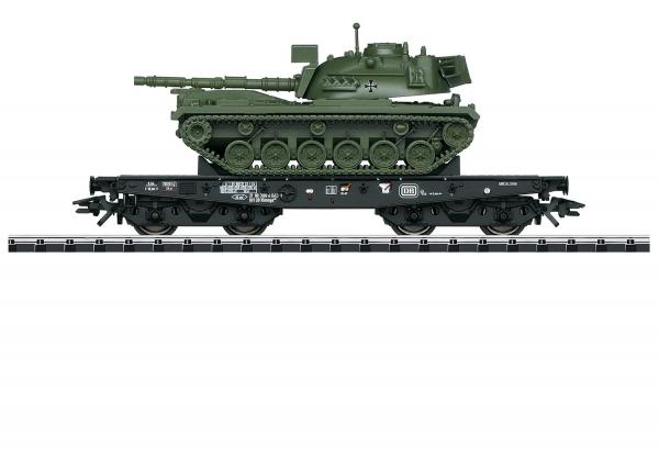 Trix 24214 Schwerlastwagen Rlmmp mit M48 DB IV