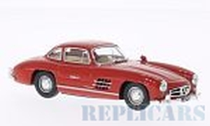 White Box WB010 Mercedes 300 SL (W198), red