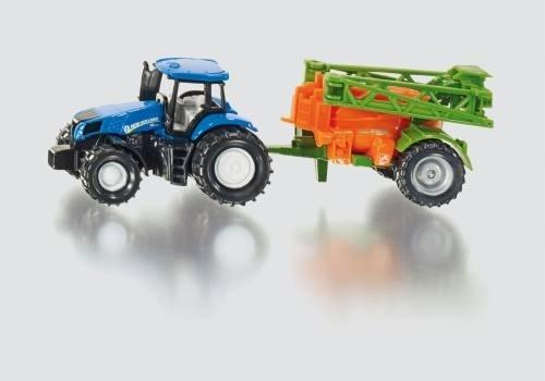 Siku 1668 Traktor mit Feldspritze