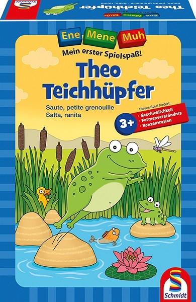 Schmidt Spiele 40549 Ene Mene Muh, Theo Teichhüpfer
