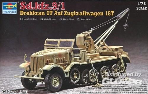 Trumpeter 07251 1/72 Drehkran 6t SDKFZ9/1