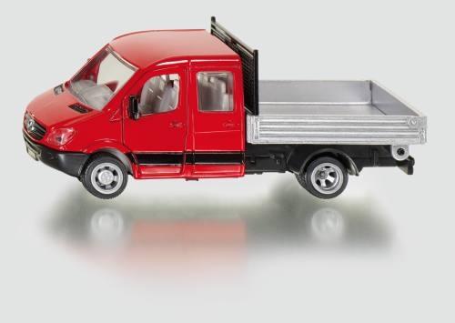 Siku 3538 Transporter mit Doppelkabine mit Pritsche