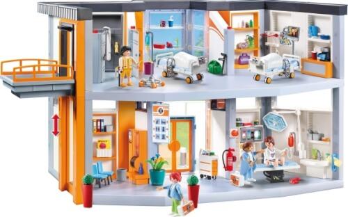 playmobil ausmalbilder krankenhaus : playmobil