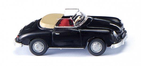 Wiking 016039 Porsche 356 Cabrio - schwarz