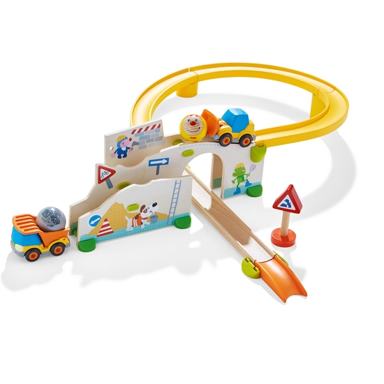 Haba 303081 Kullerbü – Spielbahn Auf der Baustelle