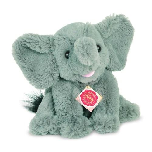 Hermann Teddy 90724 Elefant sitzend 22 cm
