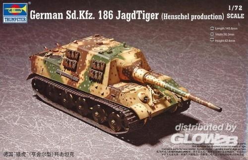 Trumpeter 07254 1/72 German Sd.Kfz.186 Jagdti