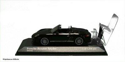 Minichamps 400069300 PORSCHE BOXSTER SPYDER - 201