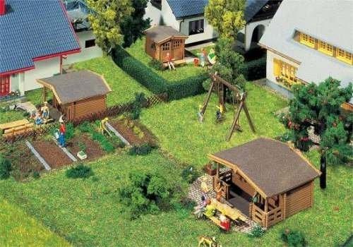 Faller 232209 3 Gartenhäuser