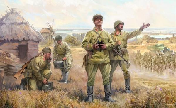 Zvezda 500786132 1:72 Soviet HQ WWII