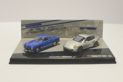 Minichamps 402902010 DOUBLE SET POSCHE 911 TURBO