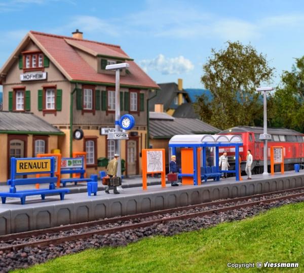 Kibri 9558 H0 Bahnsteig Hofheim