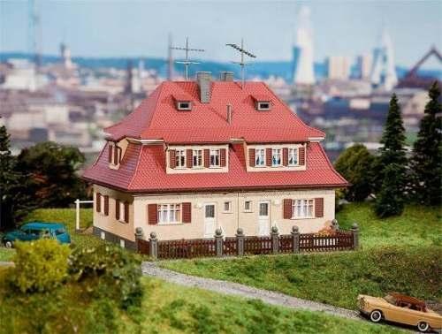 Faller 130464 Siedlungs-Doppelhaus (Klinker