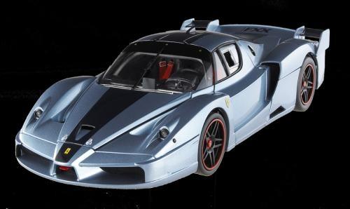HotWheels N2065 Elite Ferrari FXX hell+dunkel
