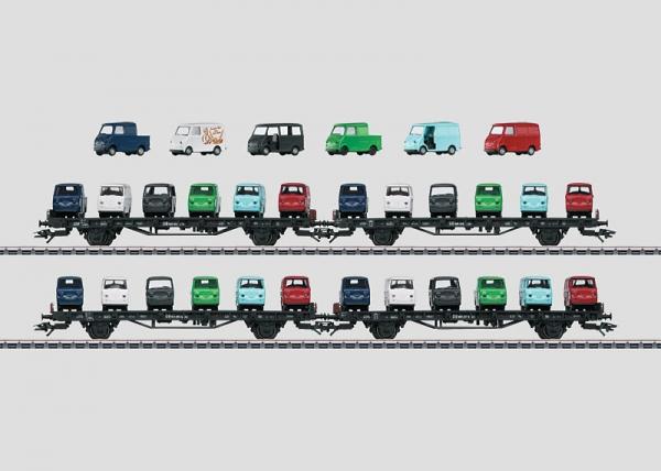 Märklin 45099 Autotransport-Set Goggo DB