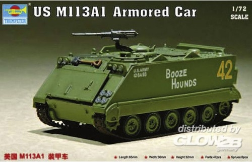 Trumpeter 07238 US M 113 A1 Armored Car