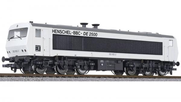Liliput L132050 Diesellok DE 2500 Henschel-BBC weiß DC