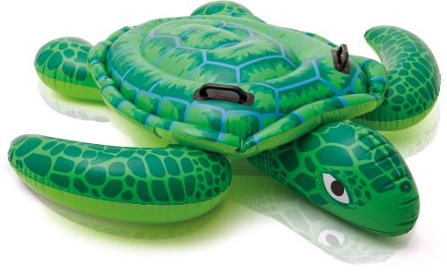 Reittier Sea Turtle 150x127 cm Aufblastiere