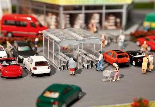 Faller 180606 Moderner Einkaufswagen-Unters