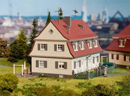 Faller 130463 Siedlungs-Doppelhaus (beige)