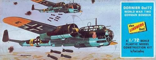 Lindberg 570414 1/72 Dornier DO 17Z