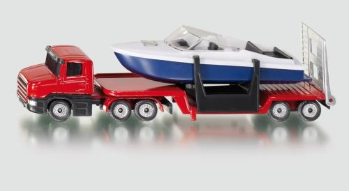 Siku 1613 Tieflader mit Boot