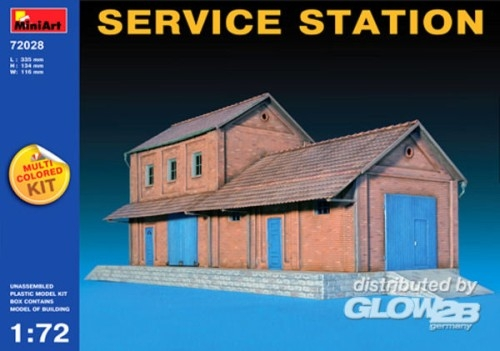 Miniart 72028 Service Station