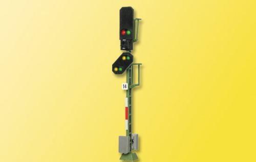 Viessmann 4014 H0 Blocksignal mit Vorsignal