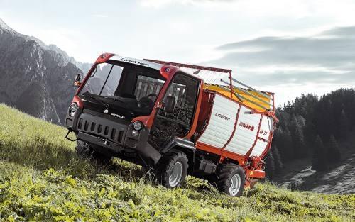 Siku 3061 Lindner Unitrac mit Ladewagen