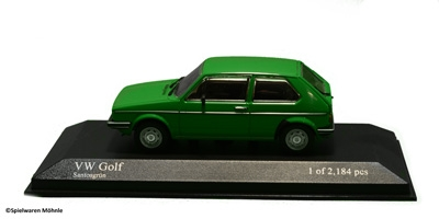 Minichamps 400055100 VW GOLF 1974 GREEN